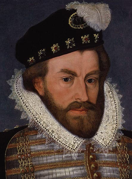 On this day in history, 20th November 1591, Sir Christopher Hatton, Elizabeth I's Lord Chancellor and favourite, died aged 51. - Christopher_Hatton