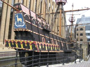 Reconstruction of The Golden Hind